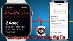 Sửa Apple Watch Lỗi Cảm Biến Nhịp Tim