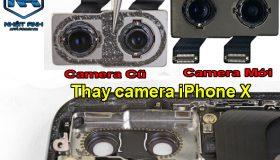 Thay Camera Sau iPhone X Chính Hãng Giá Rẻ