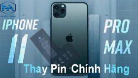 Thay pin iPhone 11, 11 Pro, 11 Pro Max đảm bảo