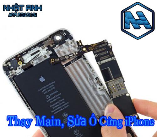 sửa ổ cứng iphone