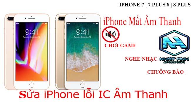 thay ic âm thanh iphone