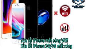 Sửa chữa iPhone mất sóng 3G – 4G chuyên nghiệp, uy tín đảm bảo