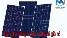 Tấm Pin Năng Lượng Mặt Trời Giá Rẻ Tại HCM