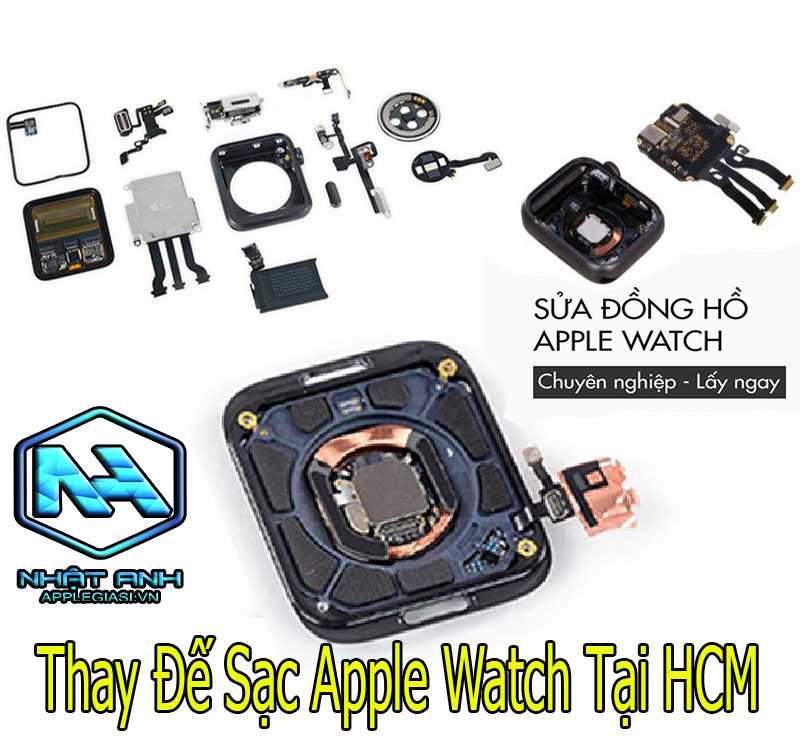 thay đế sạc apple watch